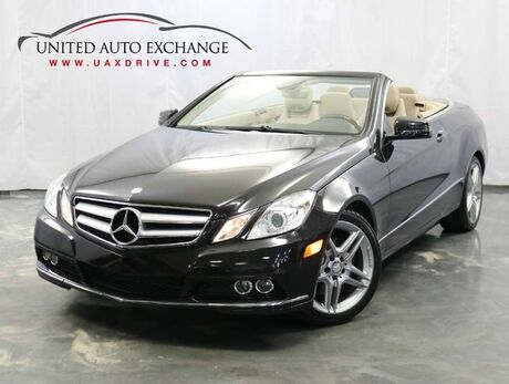 2011 Mercedes-Benz E-Class E 350 Sport Convertible / 3.5L V6 Engine / RWD / Navigation / Bluetooth / Rear View Camera / Harman Kardon Premium Sound System Addison IL