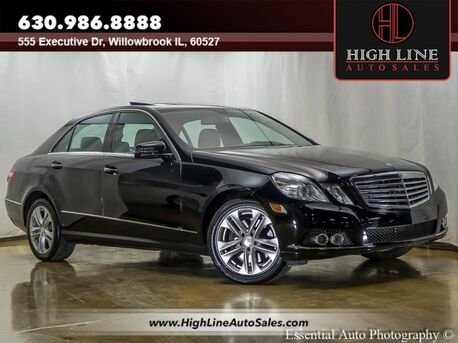 2011_Mercedes-Benz_E-Class_E 350 Sport_ Willowbrook IL