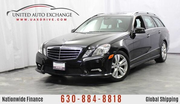 2011 Mercedes-Benz E-Class E 350 WAGON 4MATIC AWD Luxury 3.5L V6 Engine w/ 3rd Row Seats, Navigation, Panoramic Sunroof, Bluetooth Hands-free Communication, Rear View Camera & Harman Kardon Premium Sound system Addison IL