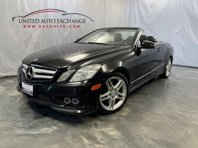 2011 Mercedes-Benz E-Class E 550 / CONVERTIBLE / 5.0L V8 Engine / RWD / Harman Kardon Premium Sound System / Rear View Camera / Heated Leather Seats Addison IL