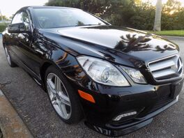 2011_Mercedes-Benz_E-Class_E 550_ Hollywood FL