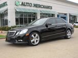 2011 Mercedes-Benz E-Class E350 Sedan 4MATIC NAV, SUNROOF, HTD SEATS, BACKUP CAM, BLUETOOTH, SAT RADIO, HARMAN KARDON