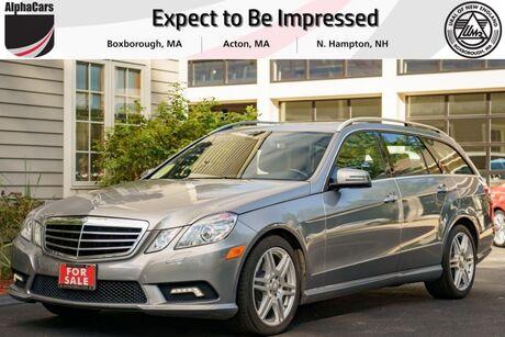 2011 Mercedes-Benz E350 4Matic AMG Sport Wagon P2 7 Pass. Boxborough MA