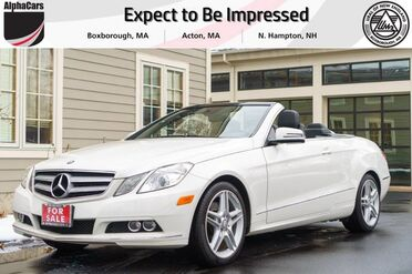 2011_Mercedes-Benz_E350_AMG Sport Cabriolet_ Boxborough MA