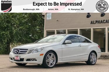 2011_Mercedes-Benz_E350_Sport Coupe_ Boxborough MA