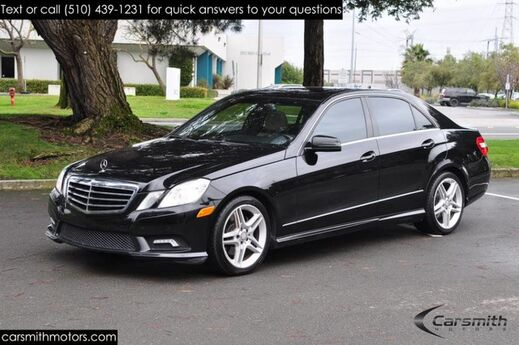 2011 Mercedes-Benz E350 Sport MUST See! Super Clean, Sporty and Fully Serviced! Fremont CA