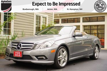 2011_Mercedes-Benz_E550_AMG Sport Cabriolet_ Boxborough MA