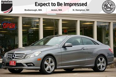 2011_Mercedes-Benz_E550_Coupe_ Boxborough MA