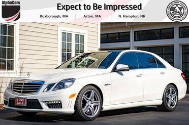 2011_Mercedes-Benz_E63_AMG_ Boxborough MA