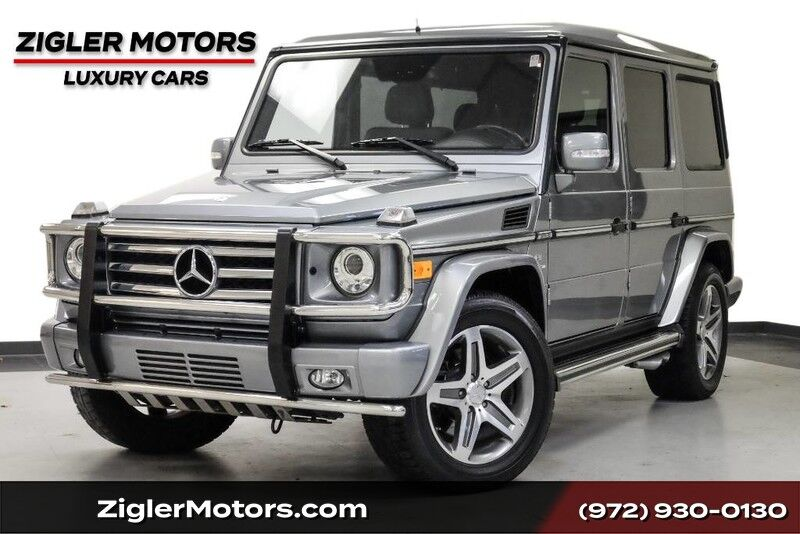 2011 Mercedes-Benz G-Class **FREE SHIPPING** G 55 AMG Designo Package 19 Inch AMG Wheels Heated Front & Re