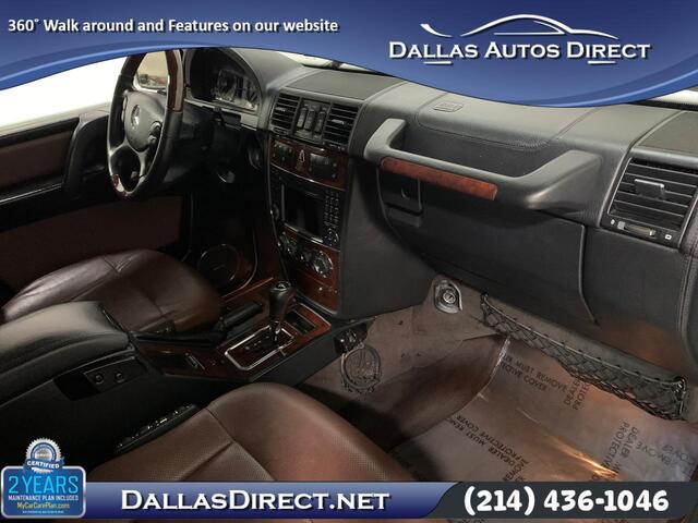2011 Mercedes-Benz G-Class G 550 Carrollton  TX