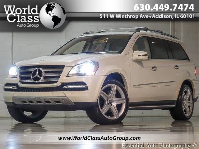 2011 Mercedes-Benz GL-Class GL 550 - 4MATIC AWD PARKING SENSORS BACK UP CAMERA HEATED LEATHER SEATS SUN ROOF THIRD ROW ALLOY WHEELS Chicago IL