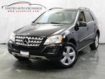 2011 Mercedes-Benz M-Class ML 350 / 3.0L Turbocharged V6 BlueTEC Diesel Engine / AWD 4Matic / Navigation / Sunroof / Heated Leather Seats / Dual Zone Climate Control