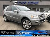 2011 Mercedes-Benz M-Class ML 350 BlueTEC Diesel Navi Lots of Service Calgary AB