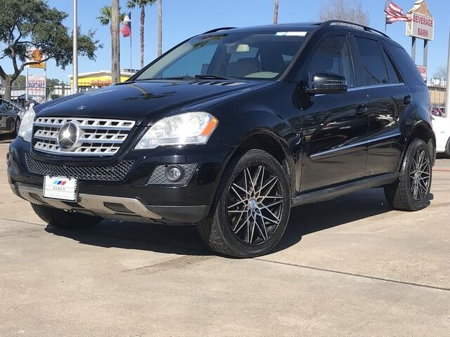 2011_Mercedes-Benz_M-Class_ML 350_ Houston TX