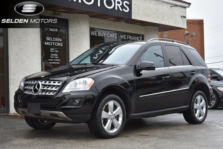2011_Mercedes-Benz_ML350_4Matic_ Conshohocken PA