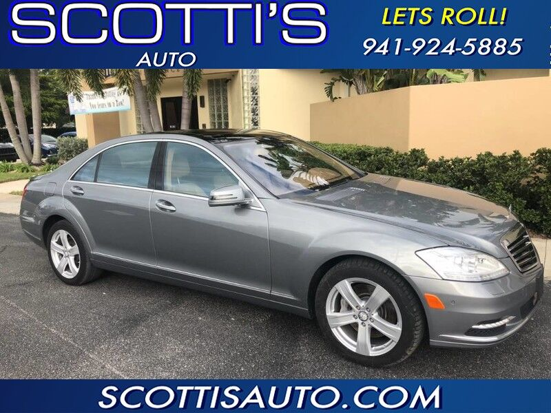 2011 Mercedes-Benz S-Class S 550 - CLEAN CARFAX! LUXURY FOR LESS! DEALER MAINTAINED!