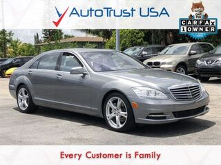 Mercedes-Benz S-Class S 550 1 OWNER CLEAN CARFAX NAV BACKUP CAM SUNROOF 2011