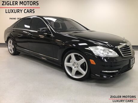 2011 Mercedes-Benz S-Class S 550 AMG Sport Pano Roof Keyless Backup low miles Clean Carfax IMMACULATE! Addison TX