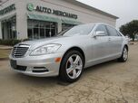 2011 Mercedes-Benz S-Class S550 4-MATIC, SUNROOF, NAVIGATION MASSAGE CHAIR, MEMORY SEATS, REAR CLIMATE, BACKUP CAMERA