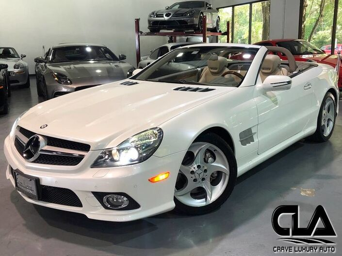 2011 Mercedes-Benz SL-Class SL 550 Roadster The Woodlands TX
