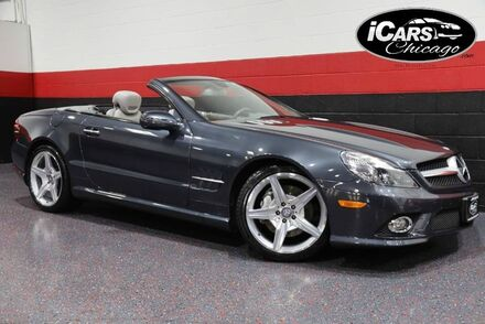 2011_Mercedes-Benz_SL550 AMG Sport_2dr Convertible_ Chicago IL