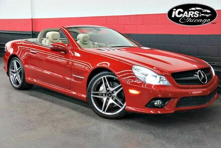 2011_Mercedes-Benz_SL550_AMG Sport 2dr Convertible_ Chicago IL
