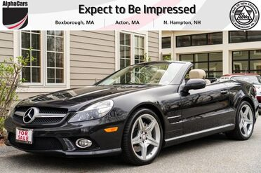 2011_Mercedes-Benz_SL550_Designo Roadster_ Boxborough MA