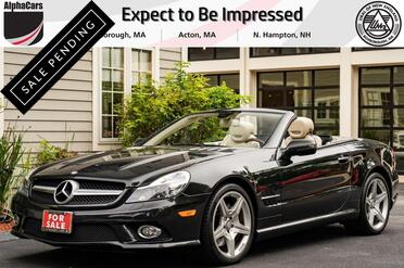 2011_Mercedes-Benz_SL550_Designo Roadster_ Boxborough MA
