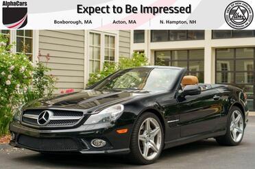 2011_Mercedes-Benz_SL550_Roadster_ Boxborough MA