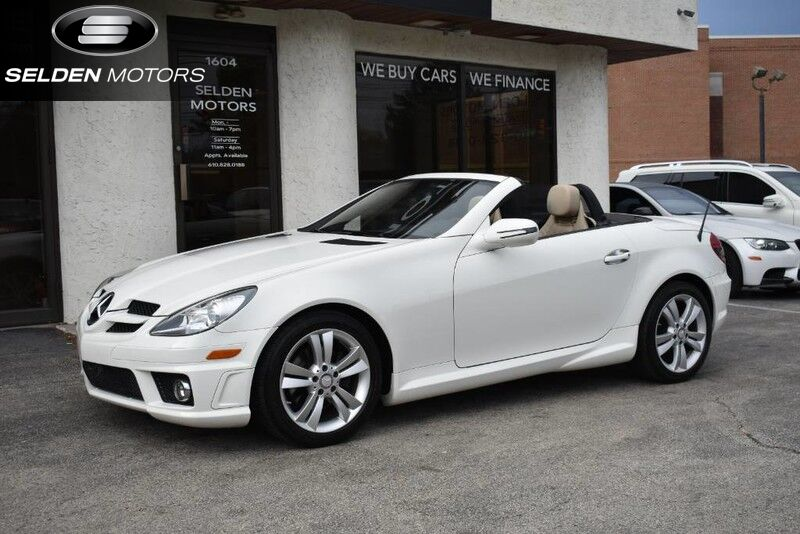 2011 Mercedes-Benz SLK300 Roadster Willow Grove PA