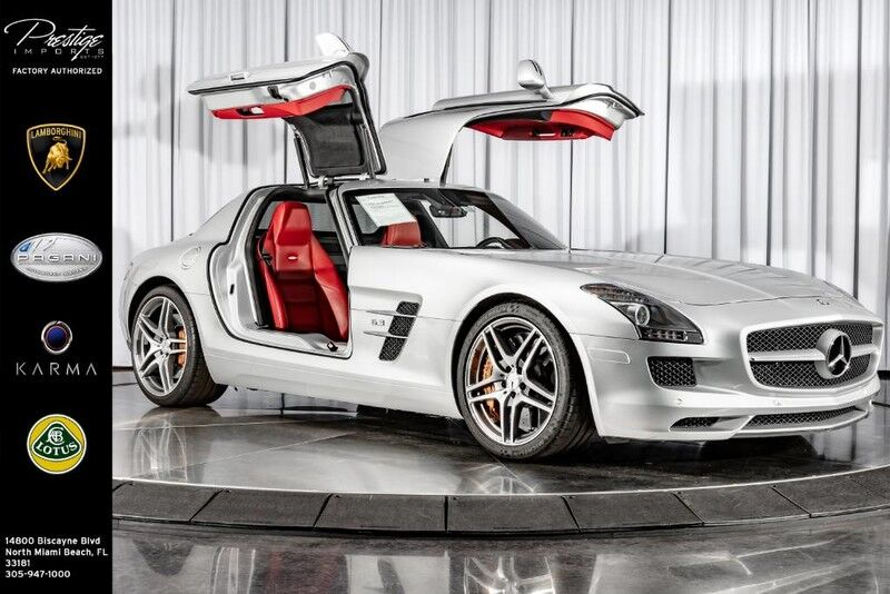 2011_Mercedes-Benz_SLS AMG_SLS AMG_ North Miami Beach FL