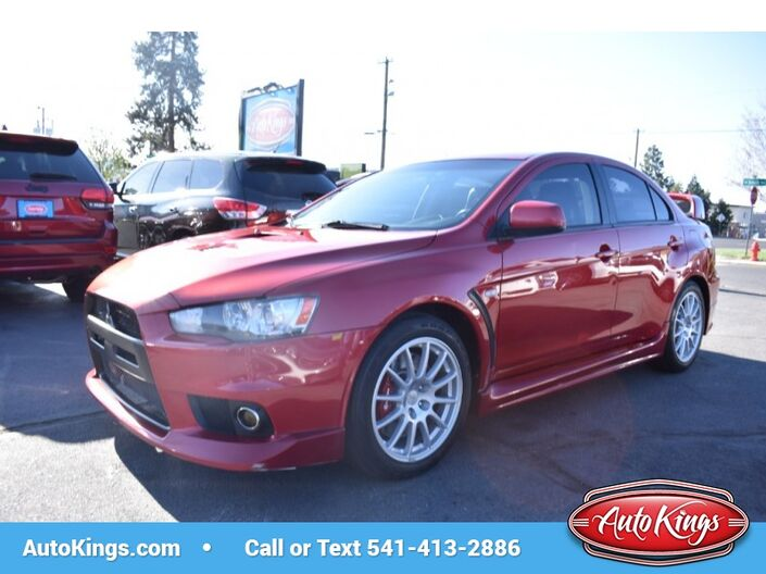 2011 Mitsubishi Lancer Evolution GSR AWD Bend OR