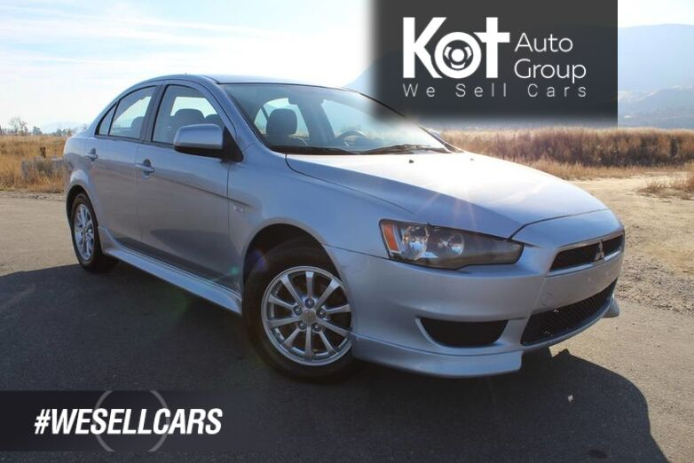 2011 Mitsubishi Lancer SE, Good on Fuel, Great for a First Car Kelowna BC