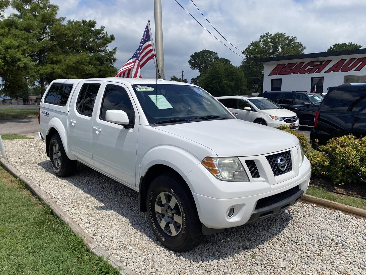 2011 NISSAN FRONTIER PRO 4X CREW CAB 4X4, WARRANTY, AUX PORT, CRUISE CONTROL, A/C, 1 OWNER, CLEAN CARFAX! Norfolk VA