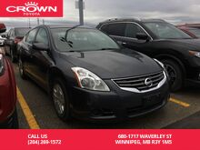 2011_Nissan_Altima_S / Crown Original / One Owner / Great Value_ Winnipeg MB