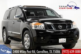 2011_Nissan_Armada_PLATINUM NAVIGATION TV ENTERTAINMENT SUNROOF LEATHER HEATED SEATS_ Carrollton TX