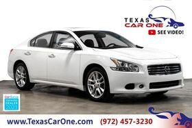 2011_Nissan_Maxima_SV COLD PKG MONITOR PKG SUNROOF LEATHER HEATED SEATS REAR CAMERA_ Carrollton TX