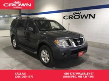 2011_Nissan_Pathfinder_SV 4WD / One Owner / Local / Highway Kms / Great Condition_ Winnipeg MB