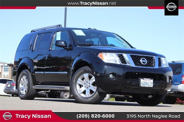 2011 Nissan Pathfinder Silver Tracy CA