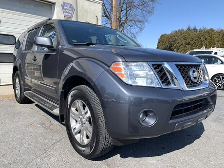 2011 Nissan Pathfinder Silver Whitehall PA