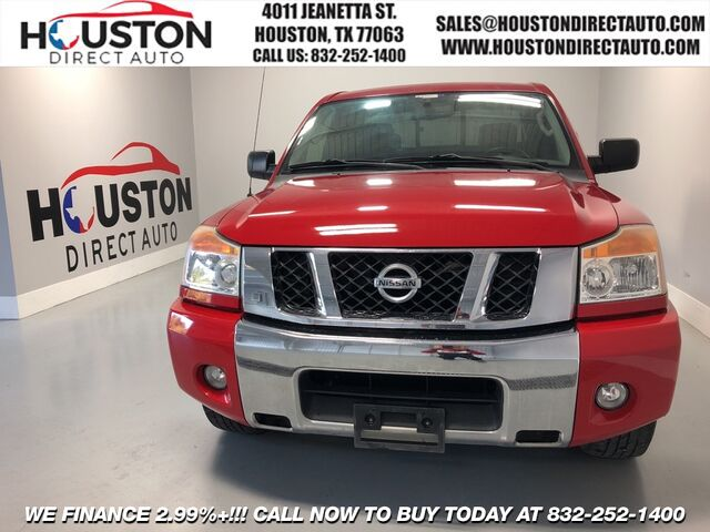 2011 Nissan Titan SV Houston TX