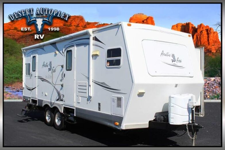 2011 Northwood Arctic Fox 26X Single Slide Travel Trailer Mesa AZ