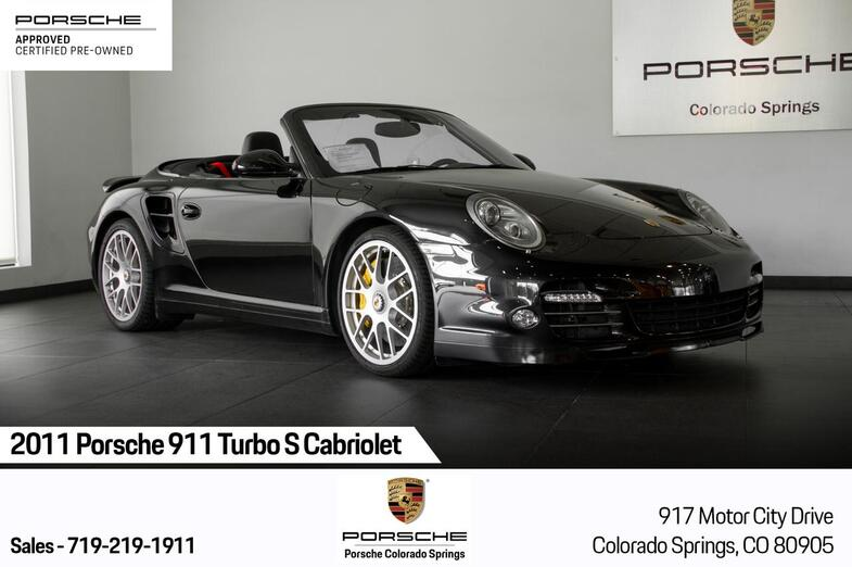 2011 Porsche 911 911 Turbo S Cabriolet Colorado Springs CO