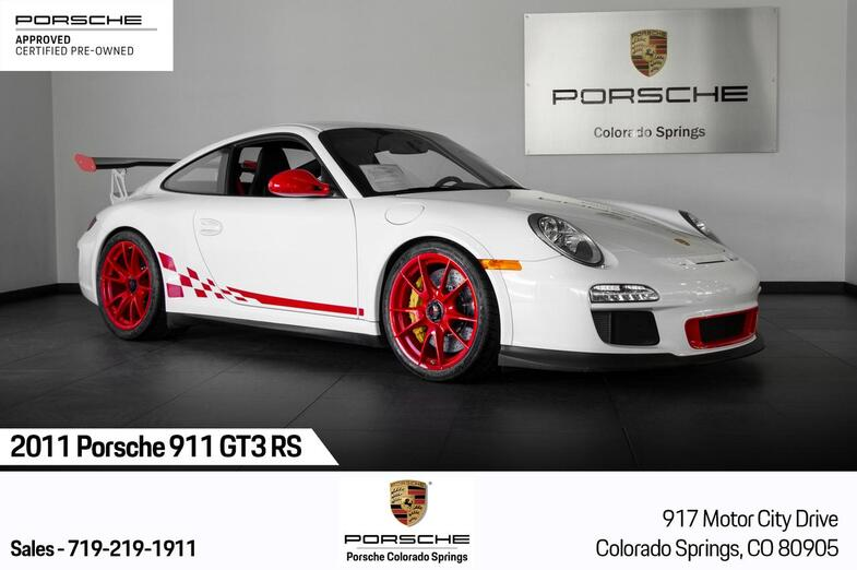 2011 Porsche 911 GT3 RS Colorado Springs CO
