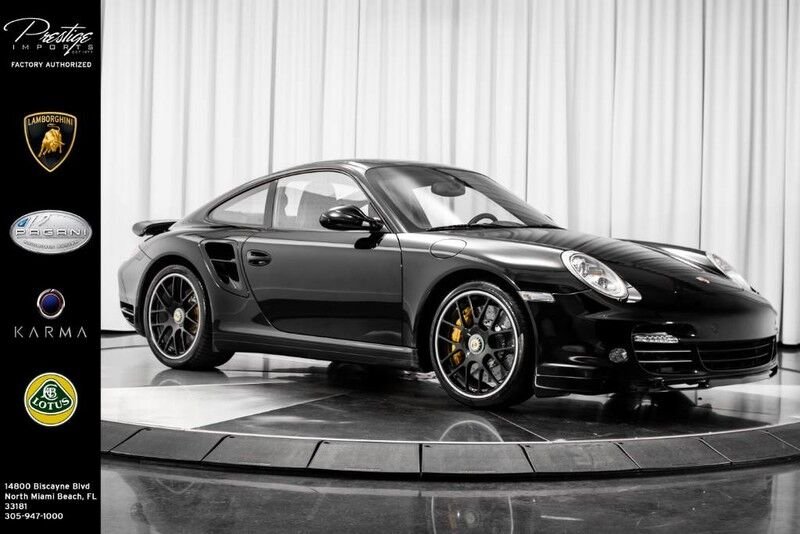 2011_Porsche_911_S Turbo_ North Miami Beach FL