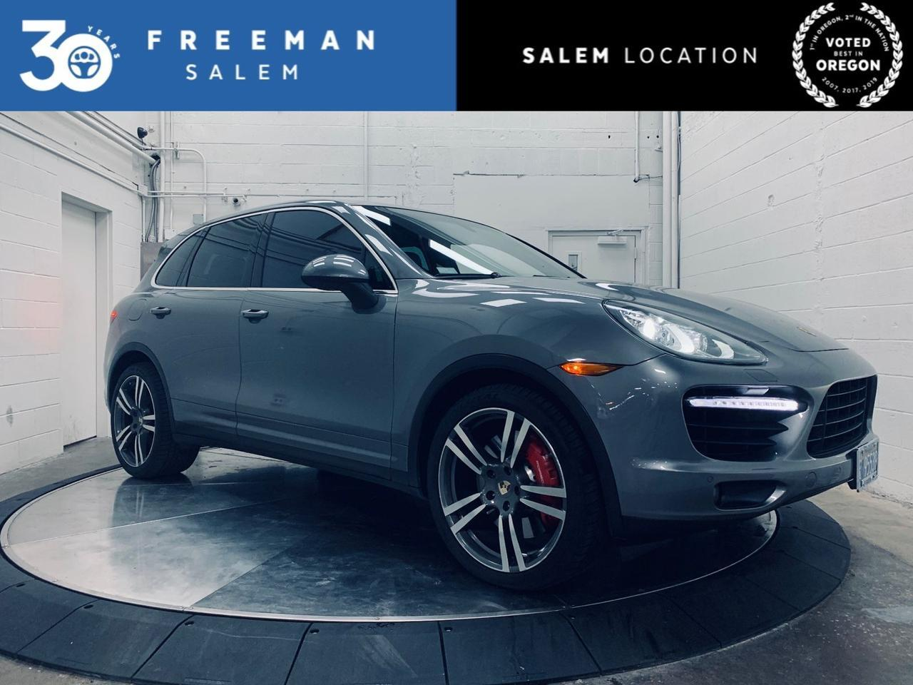 2011 Porsche Cayenne AWD Turbo Burmester Sound Lane Assist Salem OR