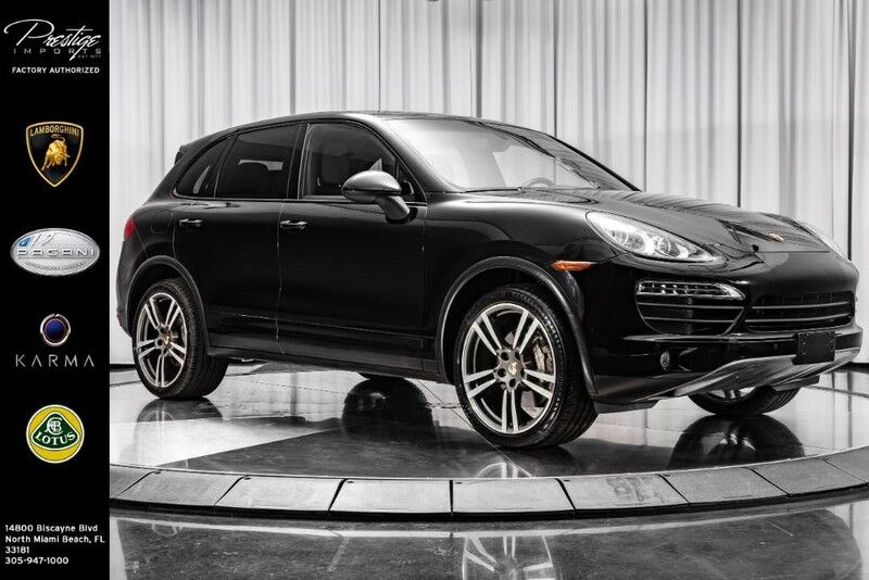 2011_Porsche_Cayenne_S_ North Miami Beach FL