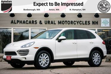 2011_Porsche_Cayenne_Tiptronic_ Boxborough MA