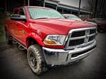 2011 RAM 2500 CREW CAB 4X4 ST 6 SPEED MANUAL TRANSMISSION